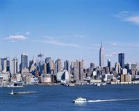 マンハッタンとハドソン川