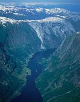 ソグネフィヨルド H3年7月 ノルウェー 25102016528| 写真素材・ストックフォト・画像・イラスト素材|アマナイメージズ