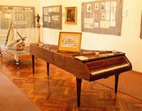 モーツァルト記念館の内部 ベルトラムカ荘