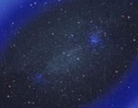 星空と星雲 星団のイメージ