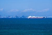 富津岬から川崎市街 25130023662| 写真素材・ストックフォト・画像・イラスト素材|アマナイメージズ