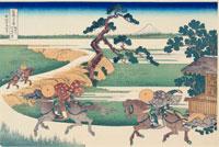 冨嶽三十六景25隅田川関屋の里