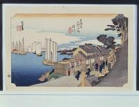 東海道五拾三次「品川」