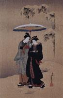浮世絵版画湖龍斉