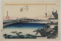東海道五拾三次 35吉田 25166003787| 写真素材・ストックフォト・画像・イラスト素材|アマナイメージズ