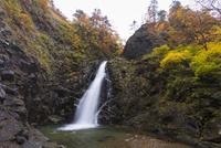秋の暗門第三の滝