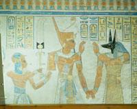 アメンヘルケプシェフの墓の壁画 王家の谷