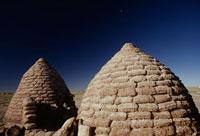 チパヤ族の円型住居