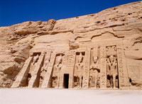 アブシンベル小神殿 25198006597| 写真素材・ストックフォト・画像・イラスト素材|アマナイメージズ
