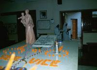 マザー・テレサの墓 カルカッタ インド