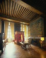 ブリサック城内のベッドルーム