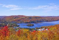 秋のローレンシャン高原 25210010977| 写真素材・ストックフォト・画像・イラスト素材|アマナイメージズ