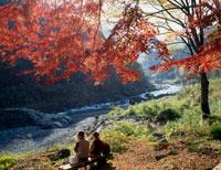 御岳渓谷 25222003418  写真素材・ストックフォト・画像・イラスト素材 アマナイメージズ