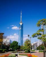 福岡タワー 25222005196  写真素材・ストックフォト・画像・イラスト素材 アマナイメージズ
