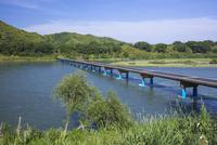 四万十川の佐田沈下橋 25222015196  写真素材・ストックフォト・画像・イラスト素材 アマナイメージズ