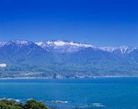 日本海と白神山地