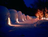 かまくら 冬の十和田湖雪祭り
