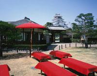 麟閣と鶴ケ城  4月