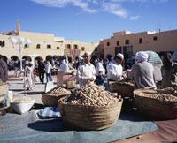 ガルダイア市場 ムザブの谷