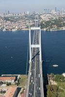上空からのイスタンブールの風景