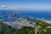 上空からのリオデジャネイロの風景
