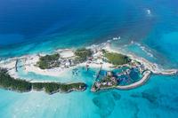 上空よりナッソー(バハマ)のリゾートエリアの風景 25295002322| 写真素材・ストックフォト・画像・イラスト素材|アマナイメージズ
