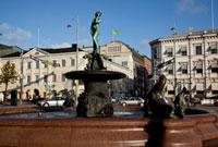 マーケット広場のバルト海の乙女像