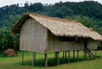 カコダ道沿いエフォギ村の家 25340002794  写真素材・ストックフォト・画像・イラスト素材 アマナイメージズ