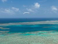 石垣島のパラグライダー