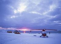 アザラシ観光用ヘリコプター