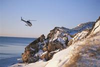 アザラシ見学用ヘリコプター