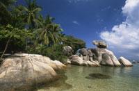 タオ島のビーチ