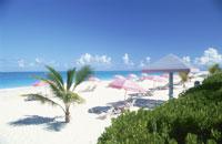 グレース湾のビーチ 25356001539| 写真素材・ストックフォト・画像・イラスト素材|アマナイメージズ