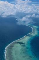 ポナペ島の周囲の環礁 11月 ミクロネシア 25356001724| 写真素材・ストックフォト・画像・イラスト素材|アマナイメージズ