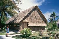 マジュロ環礁 会議場 8月 マーシャル諸島共和国