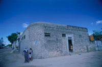 マーレ市街 民家 モルディブ共和国