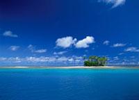 マジュロ環礁の小さな島 マーシャル諸島共和国