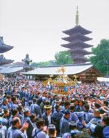 三社祭の神輿 浅草寺
