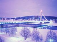 ローソク橋の夕景