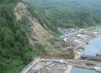 奥尻地区地震被害 25378014934| 写真素材・ストックフォト・画像・イラスト素材|アマナイメージズ