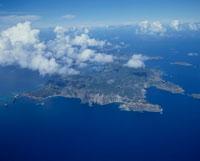 父島全景 25397002476| 写真素材・ストックフォト・画像・イラスト素材|アマナイメージズ