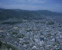 長野県庁付近よ善光寺方面