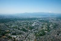 多摩ニュータウン(多摩センター駅周辺)より富士山