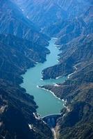 黒部ダムと黒部湖