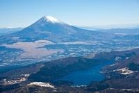 箱根芦ノ湖より富士山