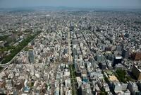 名古屋市街地周辺(丸の内より栄町方面)