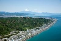 日本平,久能山より富士山と駿河湾