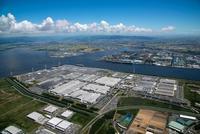 田原湾(トヨタ自動車田原工場)と渥美湾