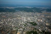 倉敷市街地と倉敷駅