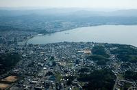 松江市街地と宍道湖,宍道湖大橋